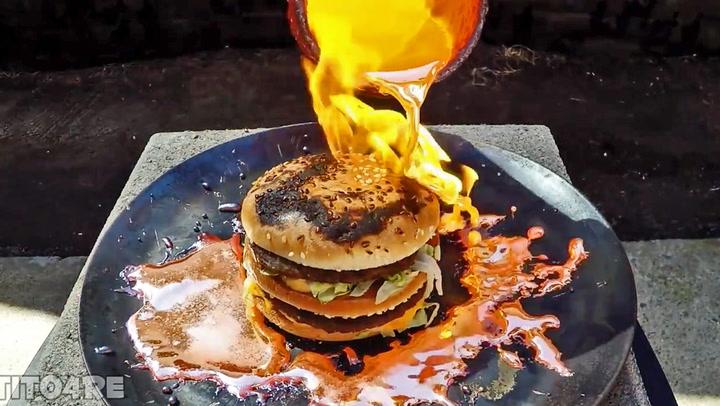 Smeltet kobber på Big Mac gir overraskende resultat