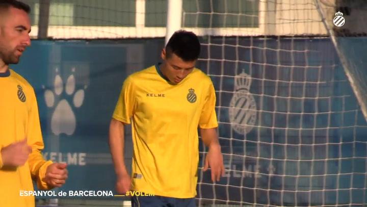 El Espanyol comienza a preparar el derbi