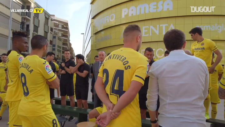 Villarreal CF official team photo