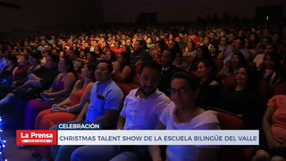 Christmas talent show de la  escuela Bilingüe Del Valle