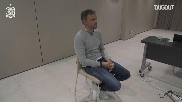 Luis Enrique: 'Quería que tocara Italia'