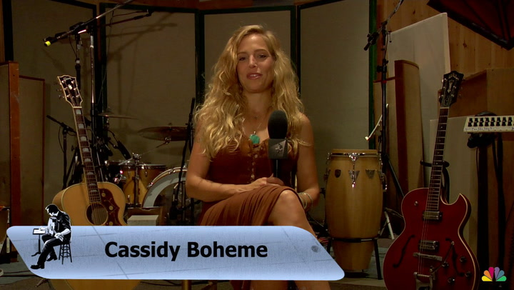 Cassidy Boheme is featured on The Jimmy Lloyd Songwriter Showcase