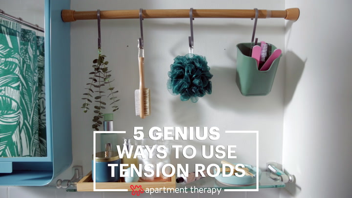 Uses For Tension Rods You Ve Never Thought Of Apartment Therapy