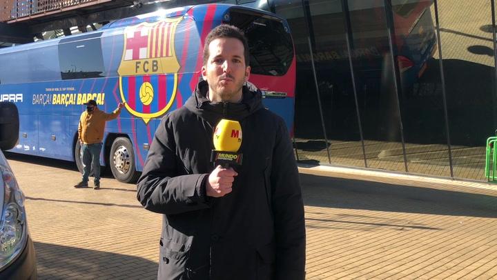 Messi, ausente en la sesión matinal de activación