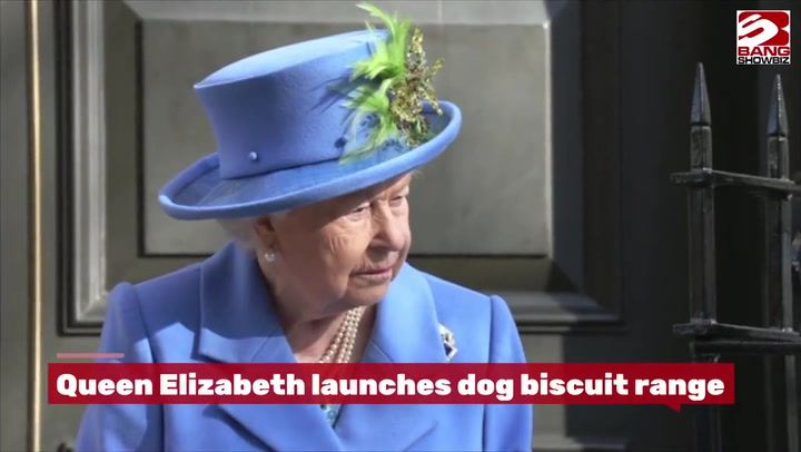 The Queen launches range of royal dog biscuits