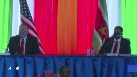 Pompeo visita Sudamérica con la mira en Venezuela y el petróleo de Guyana y Surinam