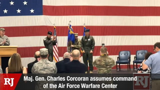 New Leader Takes Control of Warfare Center at Nellis Air Force Base – Video