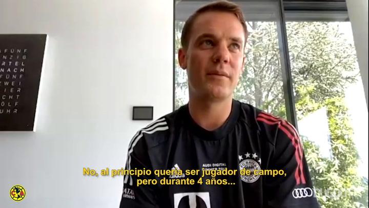 How Neuer and Ochoa became goalkeepers