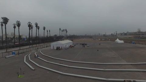 Un amplio espacio para shows artísticos se levanta en el parque Independencia