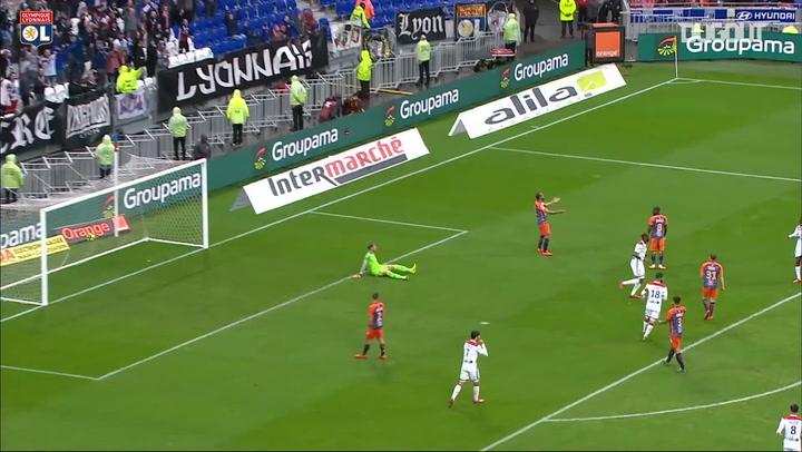 Moussa Dembélé's great team goal vs Montpellier