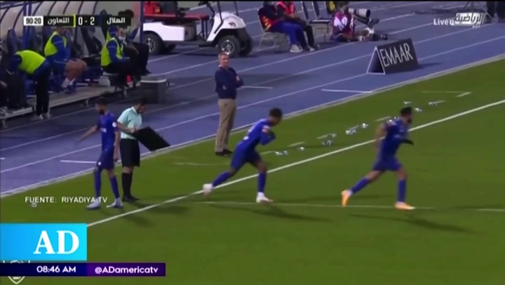 André Carrillo ingresó en el triunfo de Al-Hilal