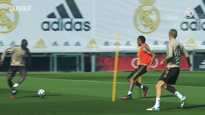 Real Madrid continue to prepare for the match against Eibar