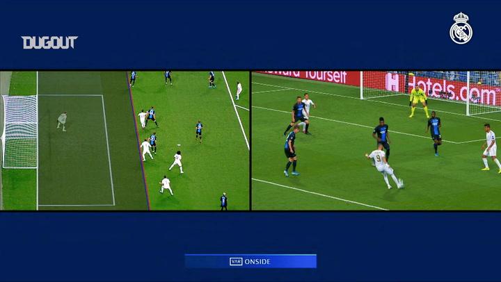 Sergio Ramos' goal vs Club Brugge