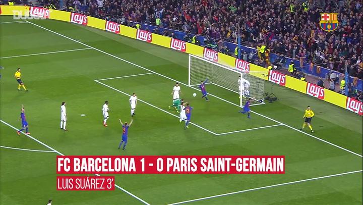 Highlights: FC Barcelona 6-1 Paris Saint-Germain - Dugout