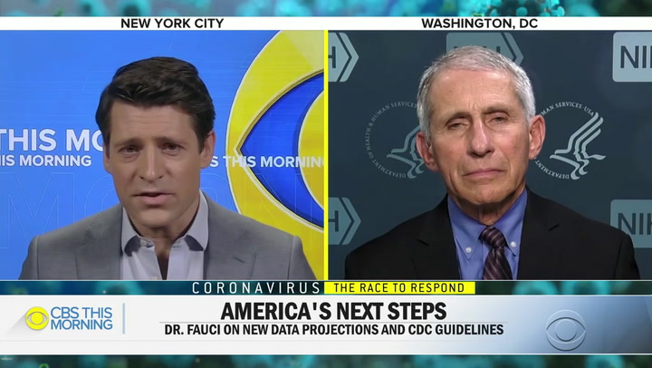 Fauci: We're Doing a Very Good Job Adhering to Guidelines -- Need to 'Redouble' Efforts of Physical Separation