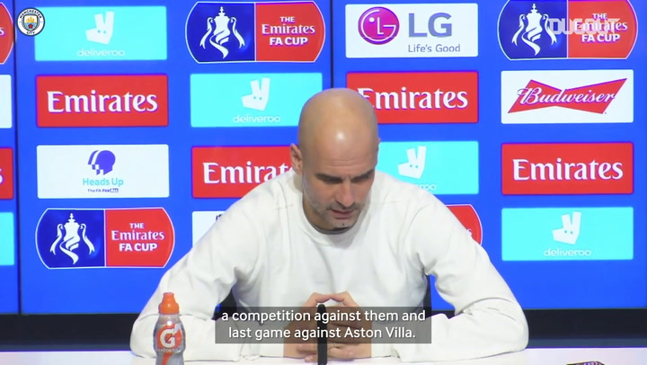 Pep Guardiola on focusing attention to cup competitions