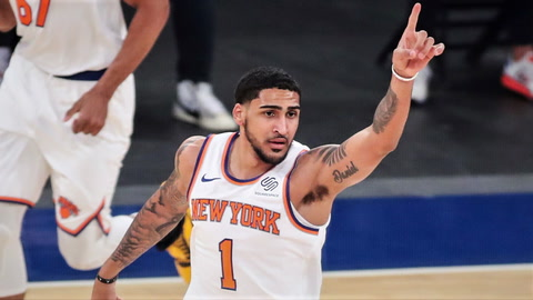 What are Knicks rookie Obi Toppin's odds to win the NBA Slam Dunk Contest?