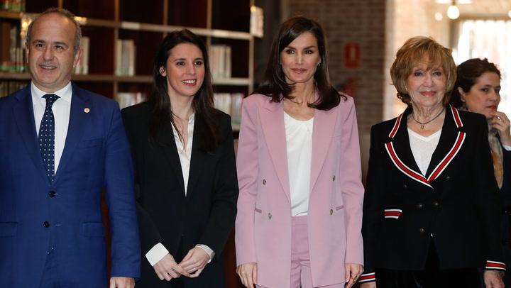 La reunión con la reina Letizia, uno de los últimos actos a los que asistió Irene Montero