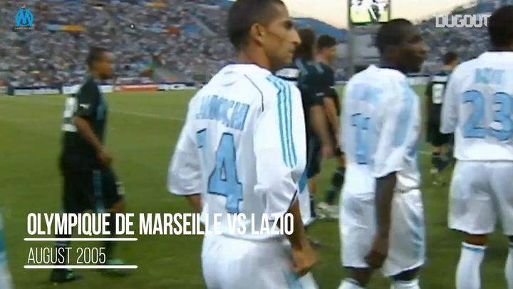 Throwback: Olympique Marseille Vs Lazio
