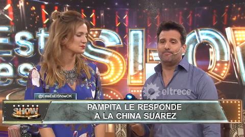 La respuesta de Pampita a las fuertes declaraciones de la China Suárez
