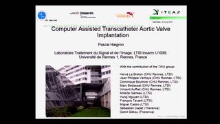 Etude européenne MEDIATE Implantation TAVI assistée par ordinateur (ITEA2 MEDIATE)