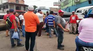 Bus pierde el control e impacta contra tres vehículos en Comayagüela