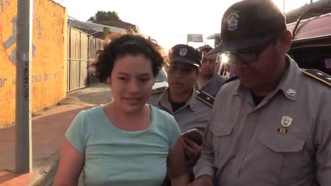Nicaragua manda a arresto domiciliario a 100 detenidos en protestas
