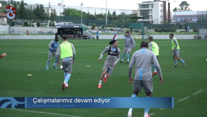 Trabzonspor'da Süper Lig Hazırlıkları