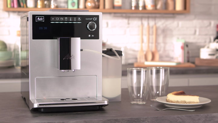 Preview image of Melitta Caffeo CI Touch Fully Automatic Bean To Cu video