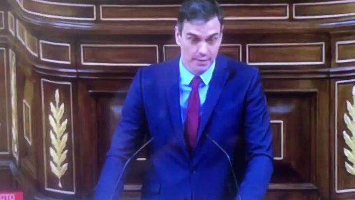 """Pedro Sánchez: """"En 15 días tendré que venir a pedir otra prórroga del estado de alarma"""""""