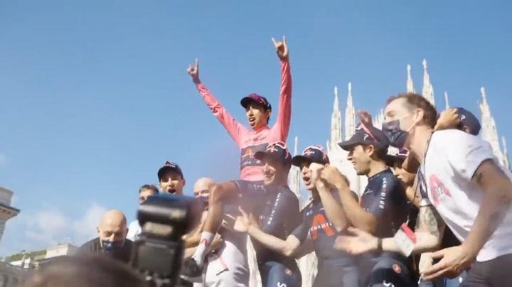 Así ganó el Giro Egan Bernal, etapa a etapa