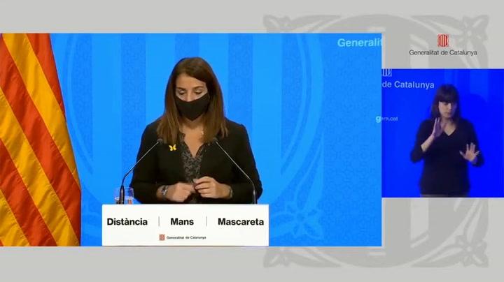 Lo que dice el Govern sobre la realización o no del voto de censura del Barça