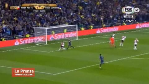 'Pipa' Benedetto pone a ganar a Boca Juniors en la final de la Libertadores