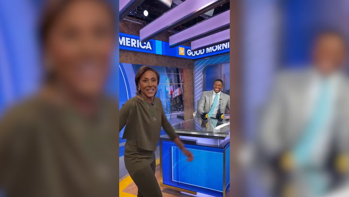 GMA's Robin Roberts and Michael Strahan are friendship goals