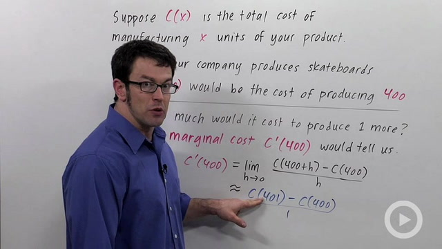 Economics: Marginal Cost & Revenue