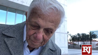Dr. S. Jay Hazan, a World War II veteran, talks about his arrest at the VA Hospital