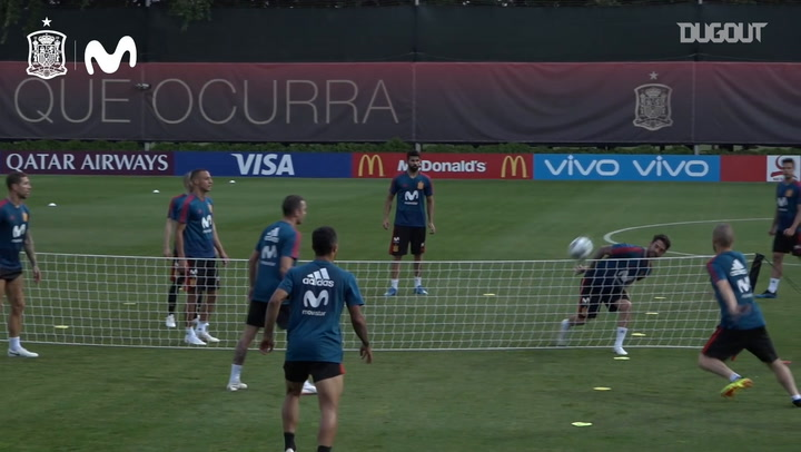 Isco's futnet exhibition