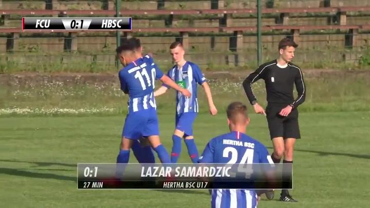 Así juega Lazar Samardzic, promesa del Hertha Berlín