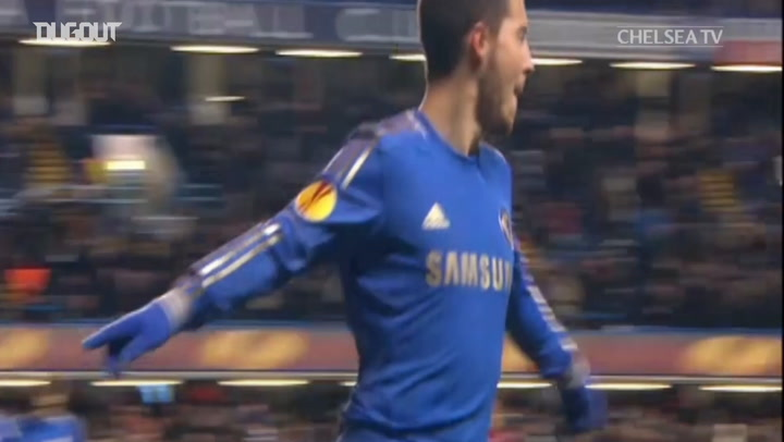 Incredible Goals: Eden Hazard's Europa League stunner vs Sparta Prague