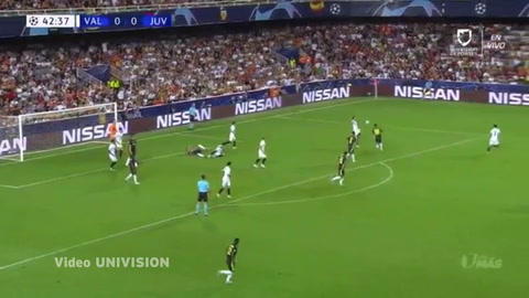 Valencia 0-2 Juventus (Champions League 2018)