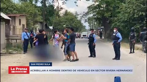 Acribillan a hombre dentro de vehículo en sector Rivera Hernández