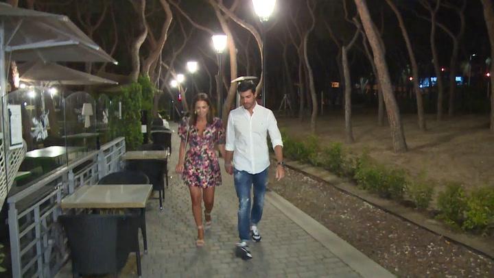 Paula Echevarría y Miguel Torres disfrutan de una salida con amigos