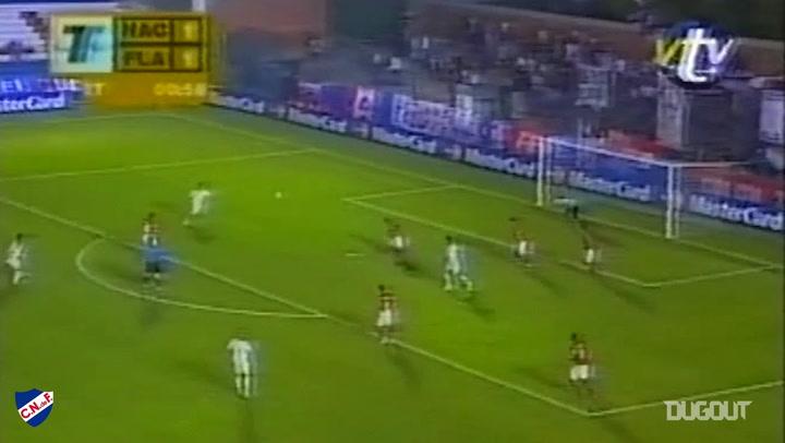 Luis Suárez's goal for Nacional vs Flamengo
