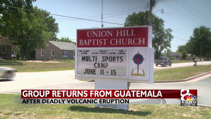Mid-Missouri group returns from Guatemala after volcano eruption