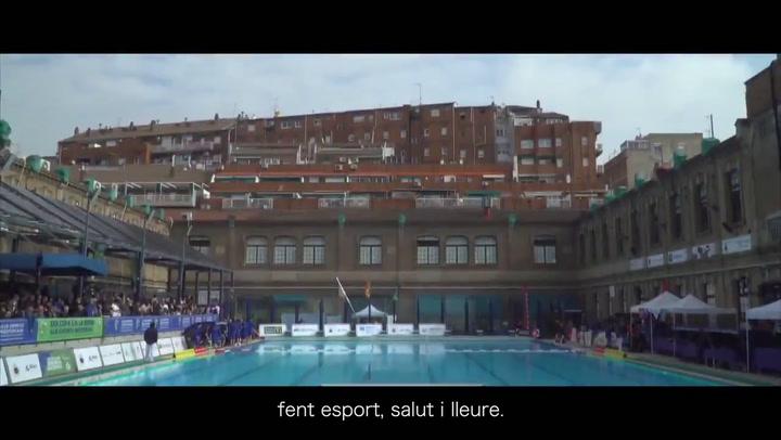 Los clubes catalanes de natación se unen para resaltar su labor social