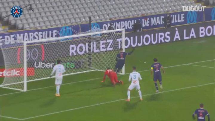 PSG goals in le Trophée des Champions final against Marseille