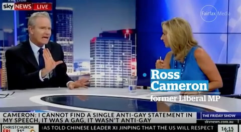 Anchor rips into homophobic colleague