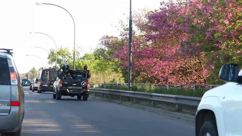 Un video muestra el ingreso de fuerzas de seguridad al barrio Bella Vista