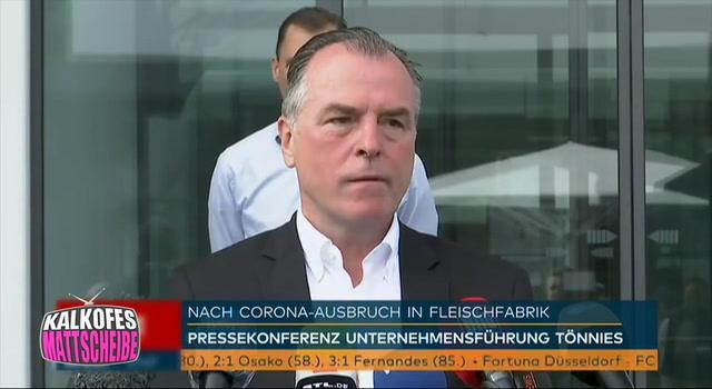 Kalkofes Mattscheibe Clip: Tönnies Pressekonferenz