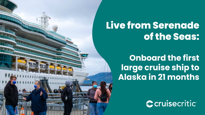 Here's what it looks like aboard Alaska's first major cruise ship in 21 months